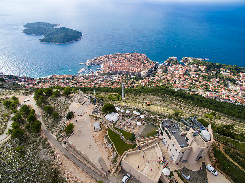 The best view in Dubrovnik