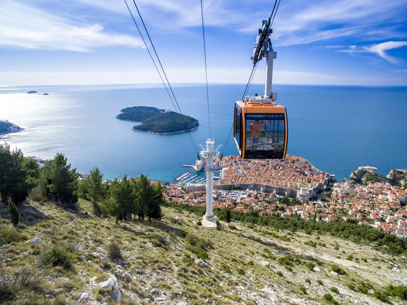 Dubrovnik's Cable Car Ride