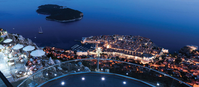 Panorama Restaurant Amp Bar Dubrovnik Cable Car